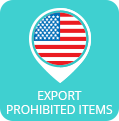 Prohibited Items for Export from US